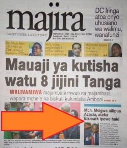 Majira Pg1 1 June 2016